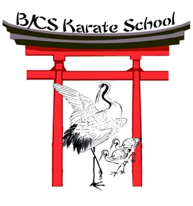 B/CS Karate School Logo